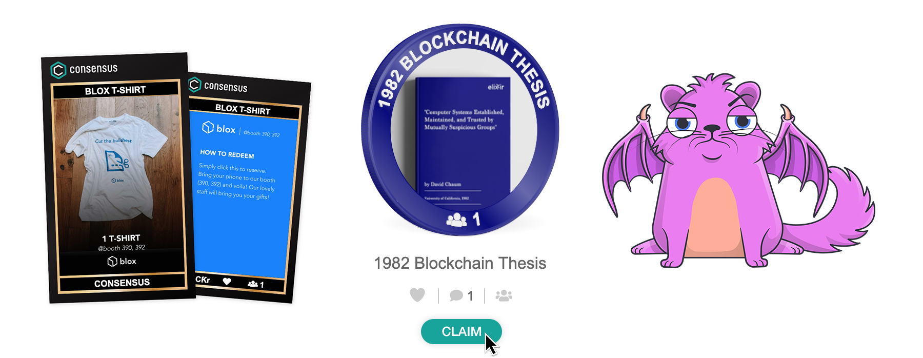 Consensus Swag Bag Media Release Images - Featured NFTs v1