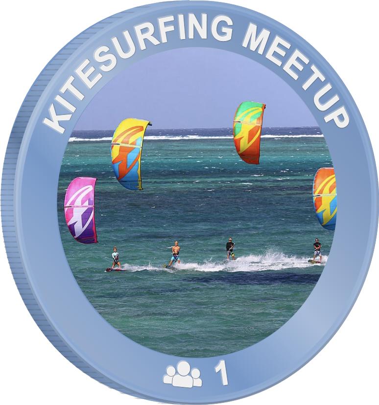 Kitesurfing meetup
