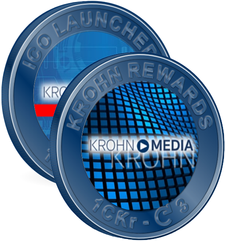 Shareable - Steven Krohn created 2 styles of Coins on Crypto.Kred